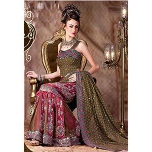Sahiba Fabrics S2107 Classic Sarees-Grey