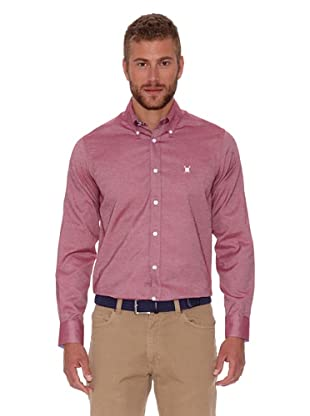 Polo Club Camisa Oxford (Rojo)