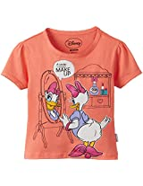 Disney Girl's Daisey Duck T-Shirt