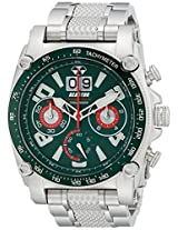 REACTOR Men's 41009 Analog Display Japanese Quartz Silver Watch