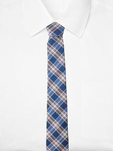 Original Penguin Men's Clarkston Plaid Tie, One Size (Red)