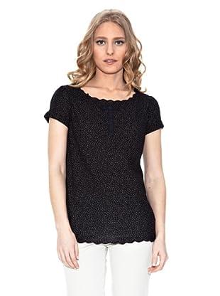 Springfield Camiseta Topos (Gris Oscuro)