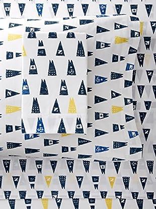 Nautica Moonsail Sheet Set (Navy)