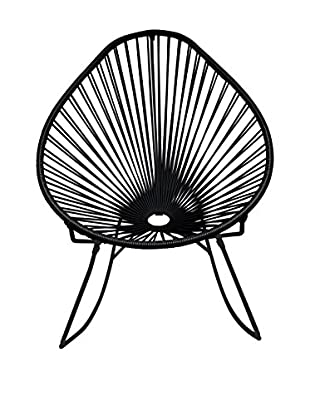 Innit Designs Acapulco Rocker, Black/Black