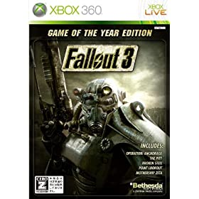 XBOX360:「Fallout 3 : GAME OF THE YEAR EDITION」