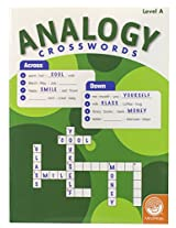 MindWare - Analogy Crosswords: Level A - 50 Puzzles - Great For Standardized Tests - Challenging and Engaging - Grades 2-4