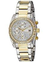 Giordano Analog Silver Dial Women's Watch - GX2657-44