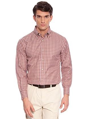 Hackett Camisa Cuadros (Granate)