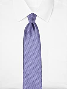 Nina Ricci Men's Cross Hatch Tie, Purple/Blue