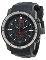 Vostok-Europe Men's OS2B/5464136 Ekranoplan Quartz Black Dial Watch