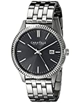 Caravelle New York  Dress Analog Grey Dial Men's Watch - 43B131