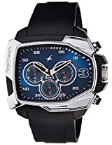 Fastrack Chronograph Blue Dial Men's Watch - 38005PP02