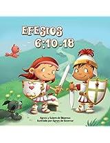 Efesios 6:10-18: La Armadura de Dios (Capítulos de la Biblia para niños) (Spanish Edition)