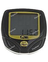 SunDing SD-548C Waterproof Wireless LCD Bike Bicycle Computer Speedometer Odometer for Outdoor Activities HUI-183032