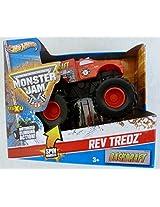 Mattel Monster Jam Backdraft By Hot Wheels 1:43