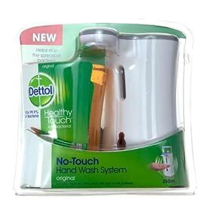 Dettol Notouch Handwash Complete Kit, Original - 250 ml