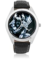 Foster's Wolverine Black and White Dial Analogue Multi-Color Watch AFW0000337