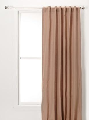 Solid Linen/Cotton Panel (Brown Sugar)
