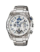 Casio Edifice Chronograph Blue & White Dial Mens Watch - EFR-523D-7AVEF