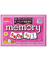 Funskool - Alphabets And Numbers Memory Game