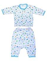FabSeasons Sleepsuit Top & Pyjama for Boys, 3-6 Months