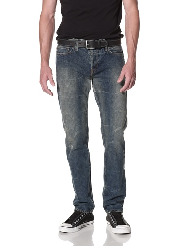 Kill City Men's Slim Straight Mod Fit Jean (Blue)