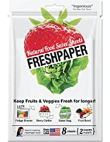 Fenugreen - Magic Paper (Keeps Fruits and Vegetables fresher upto 2 to 4 times more - 8 Sheets)