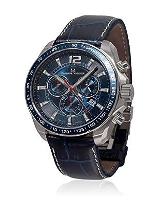 PHILIPPE VANDIER Uhr mit schweizer Quarzuhrwerk 77012  42 mm