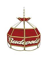 """Budweiser Tiffany Gameroom Lamp, 16"""""""