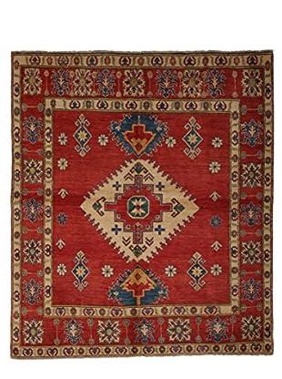 Darya Rugs Kazak Oriental Rug, Red, 6' 2
