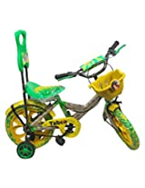 Taboo Cycle Yellow & Green Unisex Bicycle For Kids
