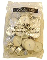 Candle-lite Essentials 25-Pack Scented Tealight Bag, Soft Cotton Blanket
