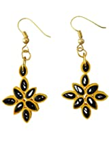 Designer's Collection Paper Quilling Ear Rings for Women-DSERC014