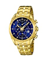 Men's Watch Festina - Gold Stainless Steel Band - Chronograph - F16656/3