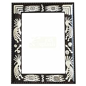 Indispash Handpainted Tribal Frame