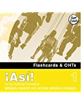 !Asi! 1 - Flashcards and OHTs CD-ROM