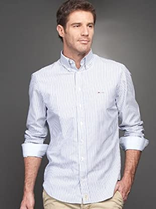 Arrow Camisa Brooke (azul marino / blanco)