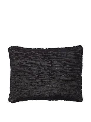 Vera Wang Crinkle Plaid Decorative Pillow, Grey, 12