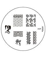 Konad Image Plate Nail Art - M71