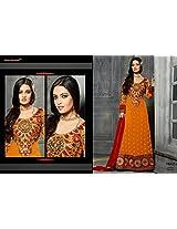 Fabboom The New Elegant Designer Floor Length Anarkali Suit