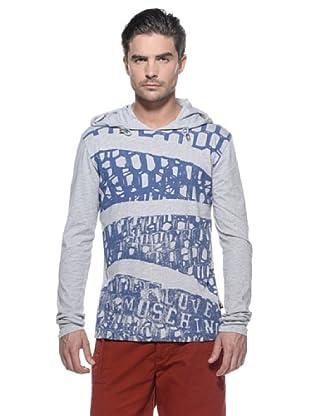 Love Moschino Camiseta Geométricos (Gris)