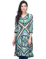 STOP to start Women's Kurta (9369555-Multi-Coloured-X-Small)