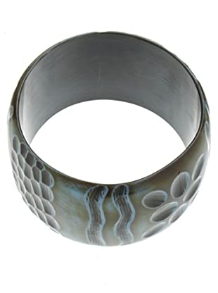 Anna Biblò Touchstone Bangle nero