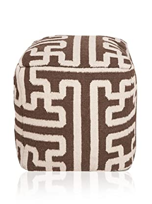 Surya Archive Pouf (Dark Chocolate)