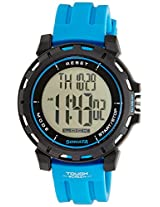 Sonata Ocean Series Digital Black Dial Men's Watch - 77037PP02