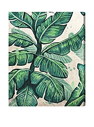 Oliver Gal 'Banana Leaves' Canvas Art