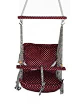 Hanging Hammock nylon cotton kids child girl boy hanging baby swing chair set