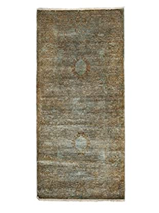 Darya Rugs Ziegler One of a Kind Rug, Green, 3' 3