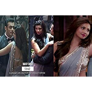 Jai Ho Grey Bollywood Designer Saree