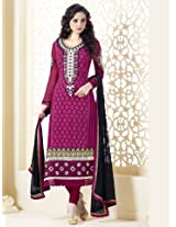 Monalisa Semi Stitched Anarkali Salwar Suit